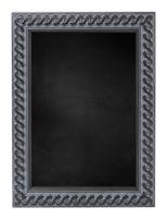 Krijtbord met M2702 Houten Lijst - Oud Zwart