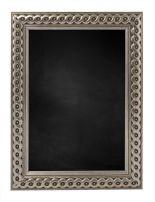 Krijtbord met M2711 Houten Lijst - Zilver
