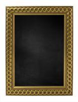 Krijtbord met M2713 Houten Lijst - Goud